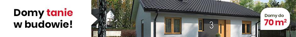 Projekty domów do 70m