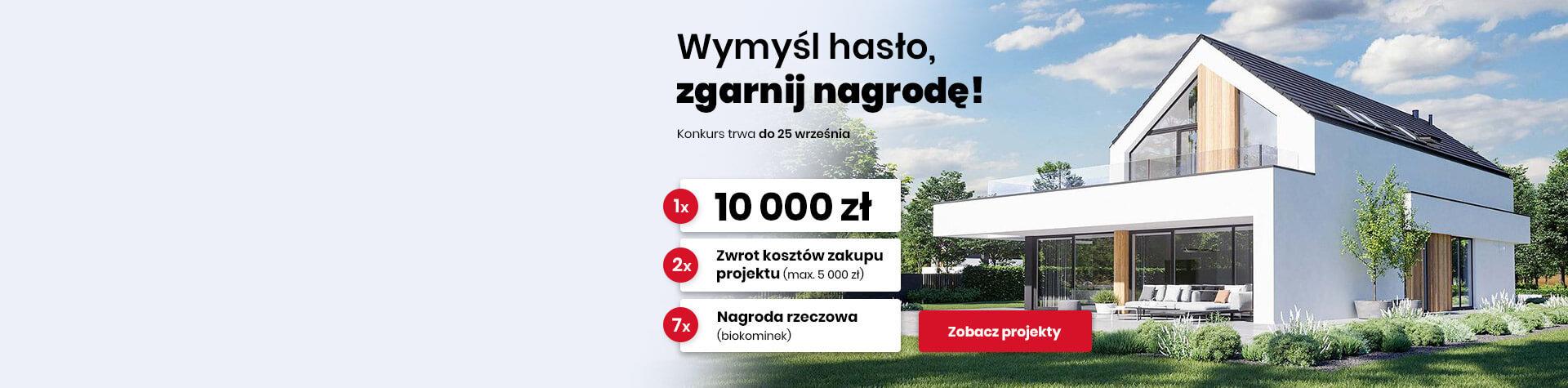 Projekty domów - w konkursie